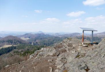 Střední vrch a Herdstein